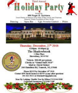 GM Holiday Party @ Shadowbrook | Shrewsbury | New Jersey | United States